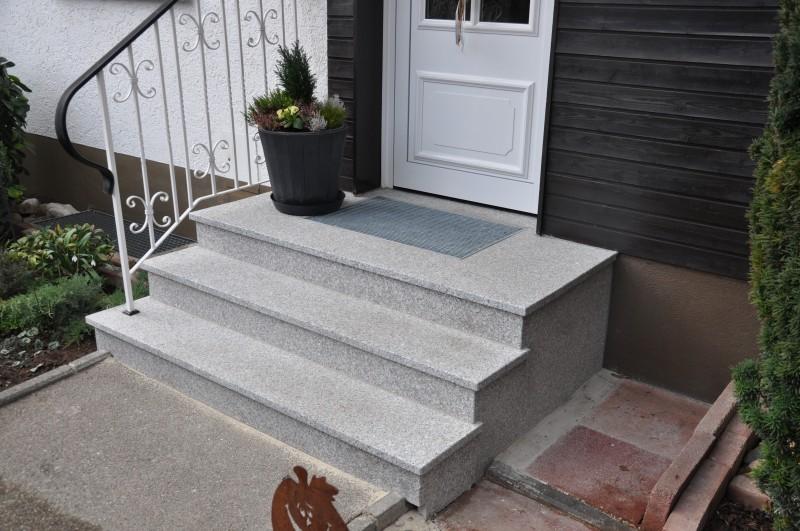 treppe aussenbereich lindner natursteine